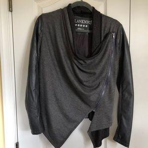 Blank NYC Small Gray Zipper Jacket